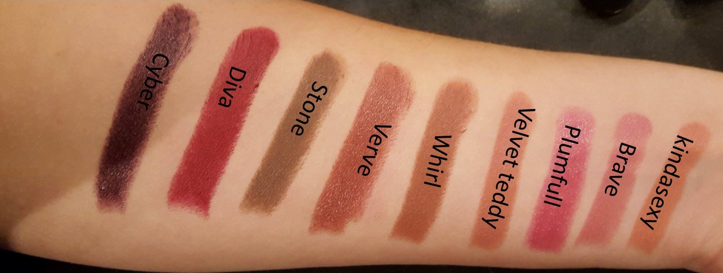 Makeuptutorial.nl - Mac Lipstick swatches