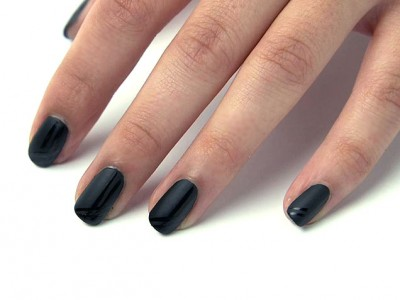 makeuptutorial - zwarte nagels
